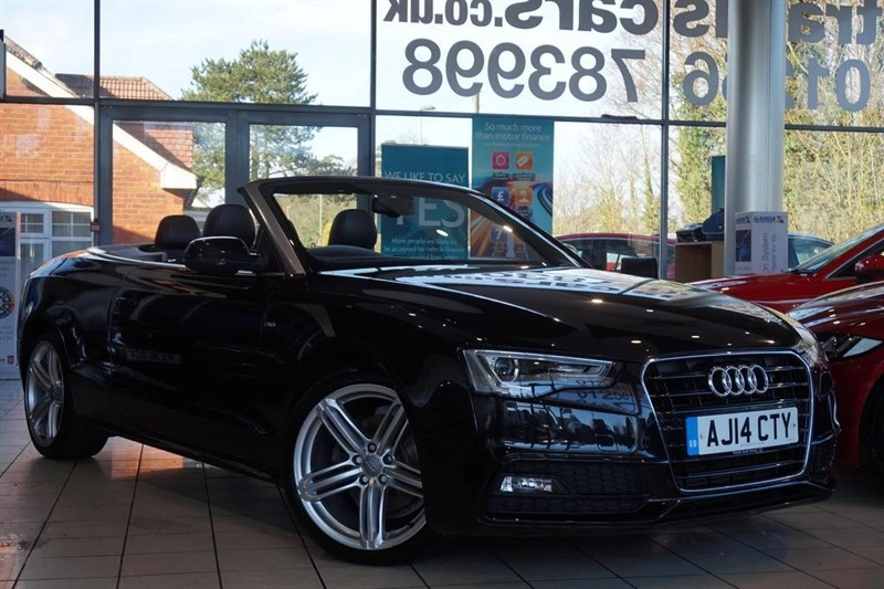 used Audi A5 Cabriolet TDI Special Edition 2dr in basingstoke-hampshire