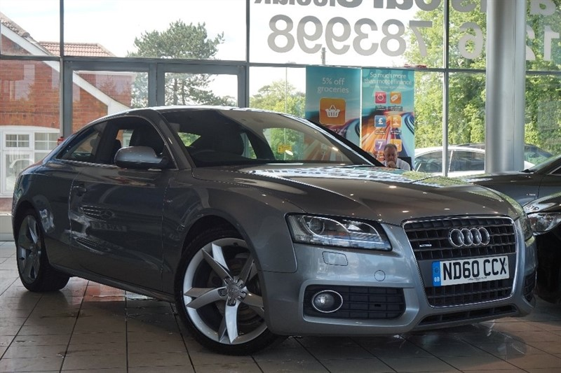 used Audi A5 TDI S line Special Edition Quattro 2dr in basingstoke-hampshire