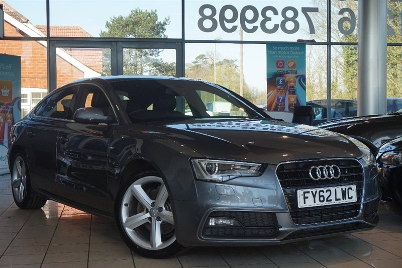 used Audi A5 TDI S line Sportback Multitronic 5dr in basingstoke-hampshire