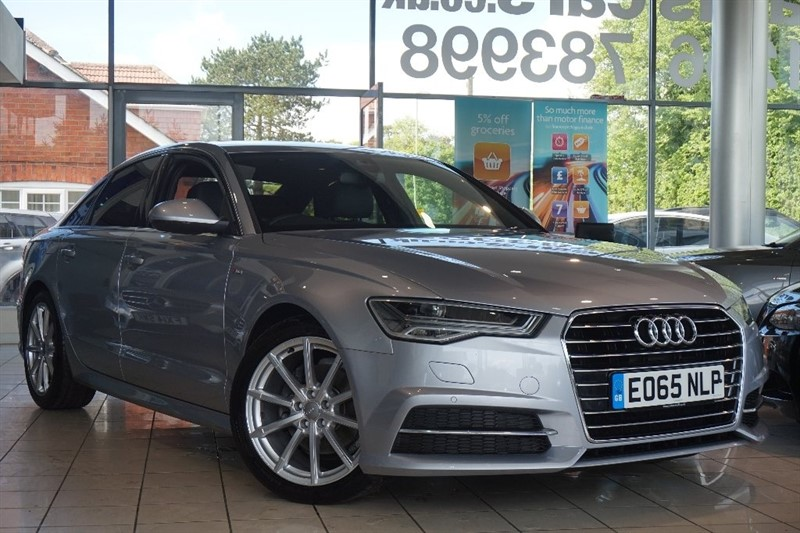 used Audi A6 Saloon TDI ultra S line Tronic (s/s) 4dr in basingstoke-hampshire