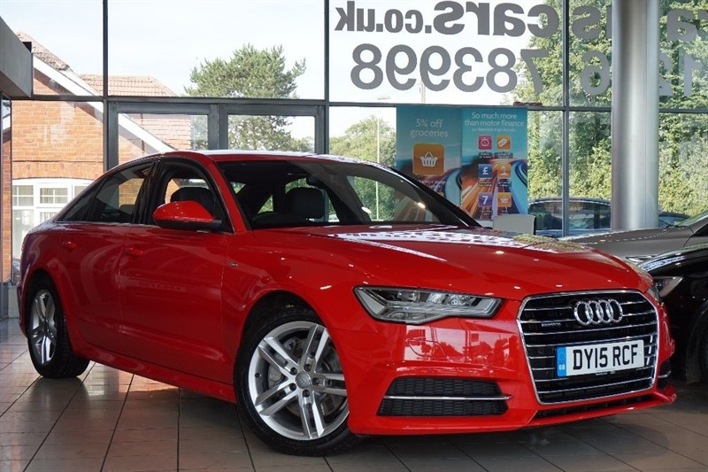 used Audi A6 Saloon TDI S line Tronic Quattro (s/s) 4dr in basingstoke-hampshire
