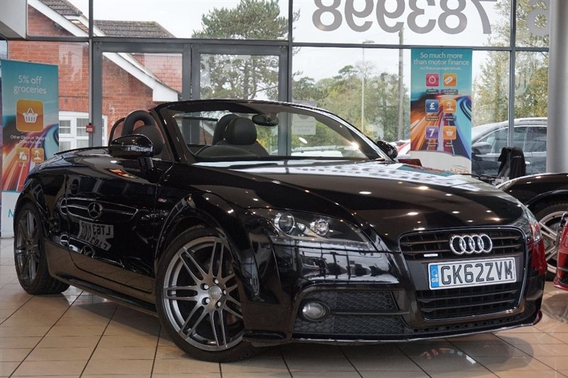 used Audi TT TD Black Edition Roadster 2dr in basingstoke-hampshire