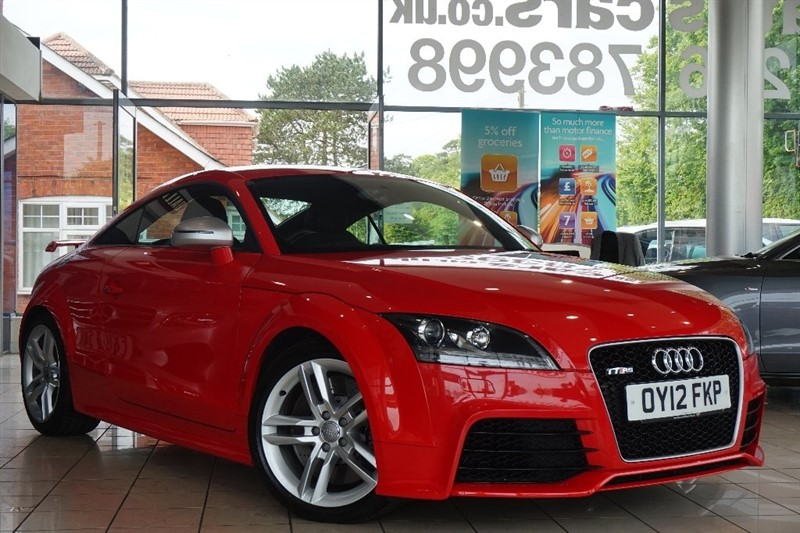 used Audi TT RS TFSI RS Quattro 3dr in basingstoke-hampshire