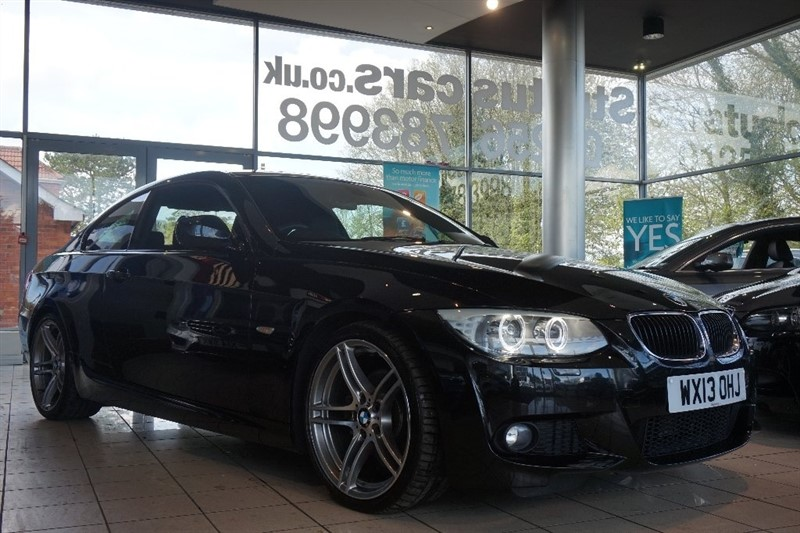 used BMW 320d 3 Series M Sport 2dr in basingstoke-hampshire