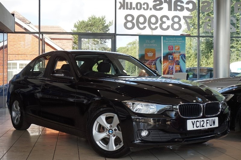 used BMW 320d 3 Series EfficientDynamics BluePerformance 4dr in basingstoke-hampshire