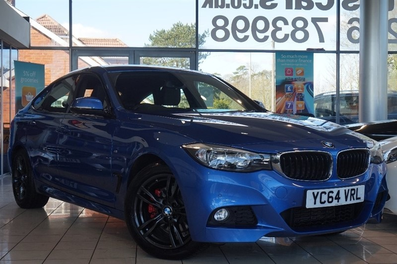 used BMW 330d 3 Series Gran Turismo M Sport GT Auto (s/s) 5dr in basingstoke-hampshire