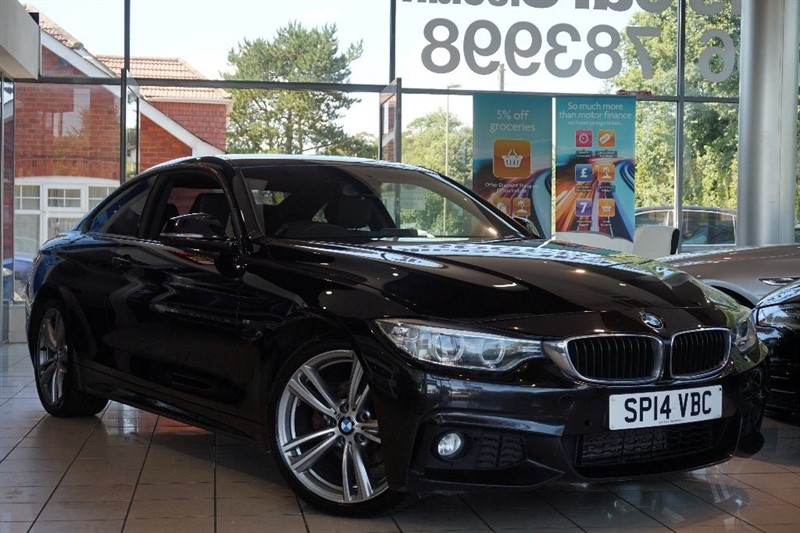 used BMW 420d 4 Series M Sport 2dr in basingstoke-hampshire