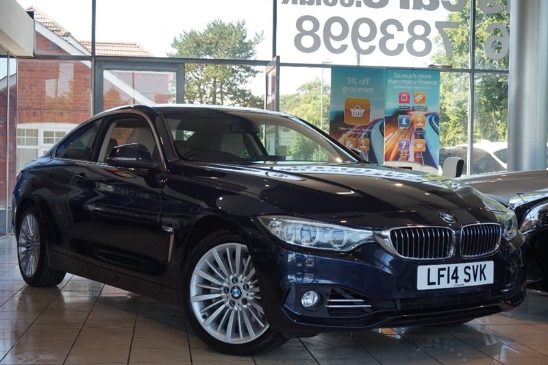 used BMW 435d 4 Series Luxury xDrive 2dr in basingstoke-hampshire