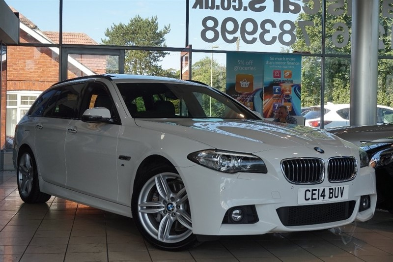 used BMW 528i 5 Series M Sport Touring 5dr in basingstoke-hampshire