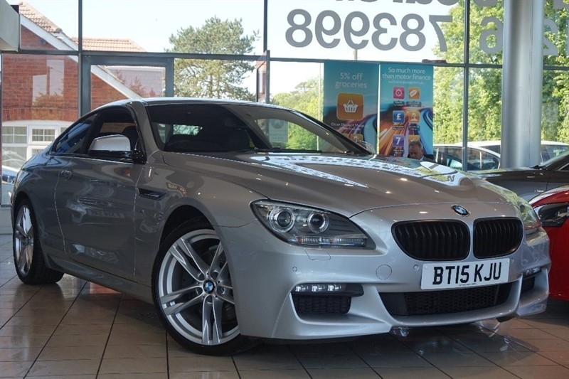 used BMW 640d 6 Series M Sport Steptronic 2dr in basingstoke-hampshire