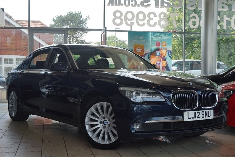 used BMW 730Ld 7 Series SE LWB Saloon 4dr in basingstoke-hampshire