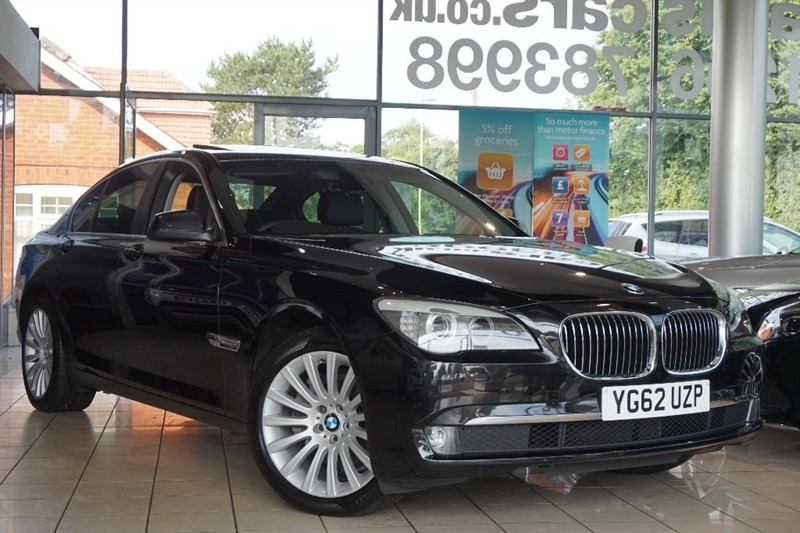 used BMW 740d 7 Series 4dr in basingstoke-hampshire