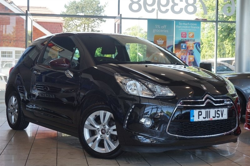 used Citroen DS3 e-HDi Airdream DStyle 3dr in basingstoke-hampshire
