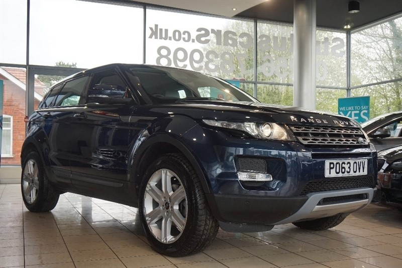 used Land Rover Range Rover Evoque SD4 Pure Tech AWD 5dr in basingstoke-hampshire