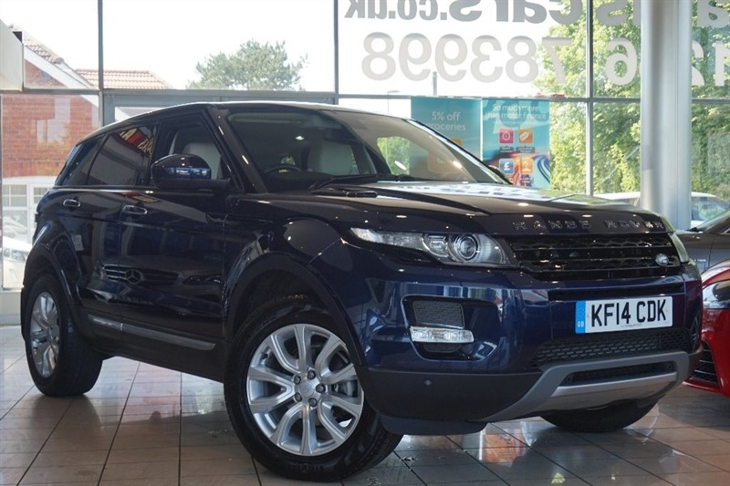 used Land Rover Range Rover Evoque SD4 Prestige AWD 5dr in basingstoke-hampshire
