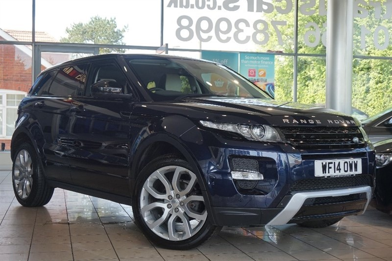 used Land Rover Range Rover Evoque Si4 Dynamic AWD 5dr in basingstoke-hampshire