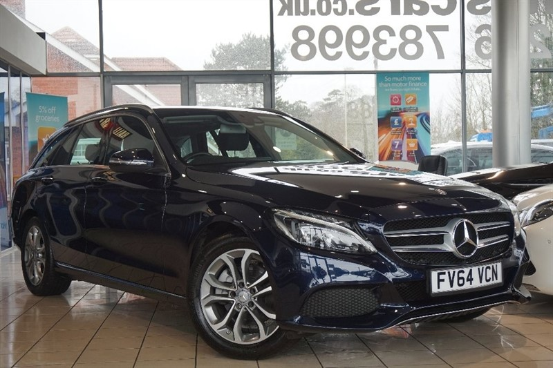 used Mercedes C200 C Class Sport 7G-Tronic Plus (s/s) 5dr in basingstoke-hampshire