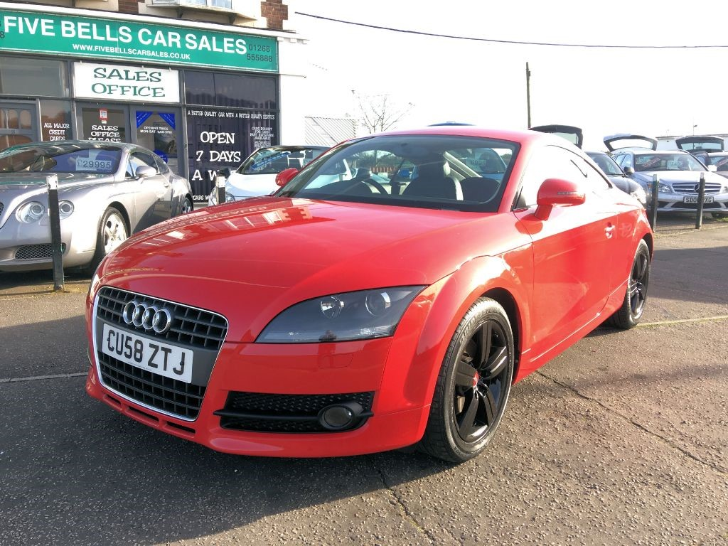 used red audi tt for sale