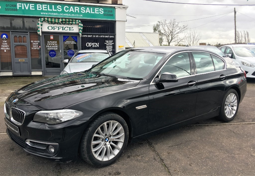 Used Black Bmw 520d For Sale Essex