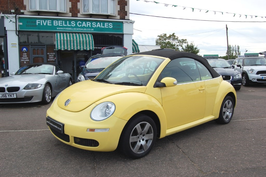 used yellow vw beetle for sale   essex