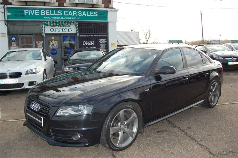 used Audi A4 TDI S LINE BLACK EDITION in stanford-le-hope-essex