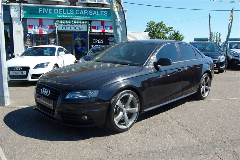 used Audi A4 TFSI QUATTRO S LINE BLACK EDITION in stanford-le-hope-essex