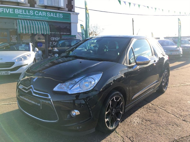 used Citroen DS3 THP DSPORT PLUS in stanford-le-hope-essex