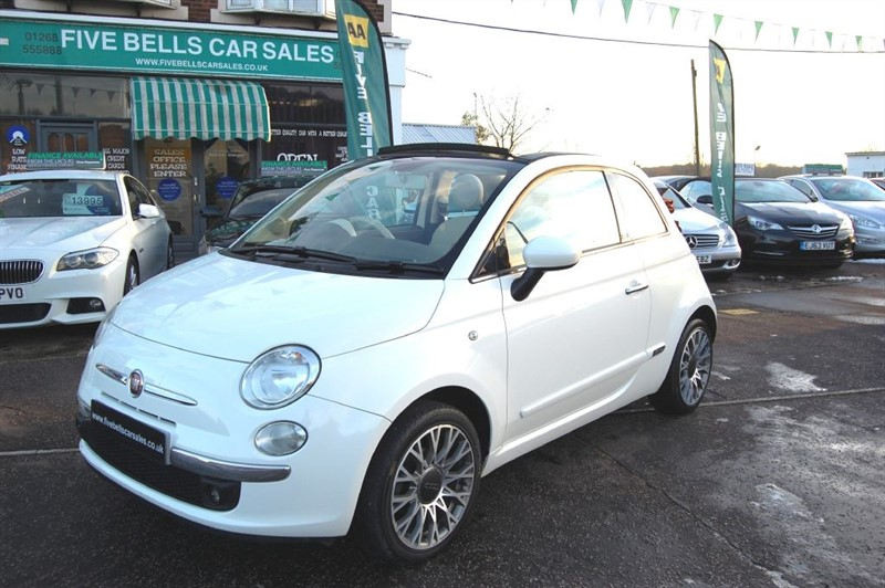 used Fiat 500 C LOUNGE in stanford-le-hope-essex
