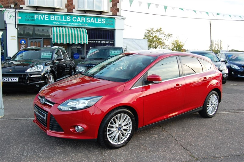 used Ford Focus ZETEC TDCI in stanford-le-hope-essex