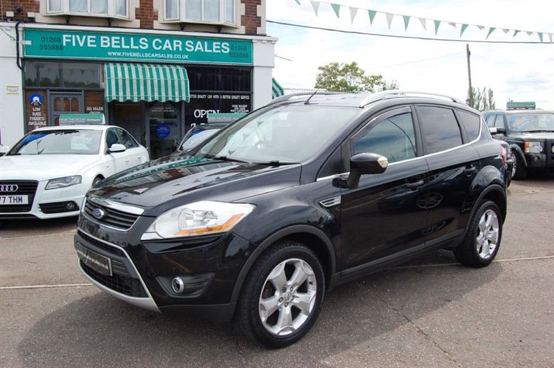 used Ford Kuga ZETEC TDCI 2WD in stanford-le-hope-essex