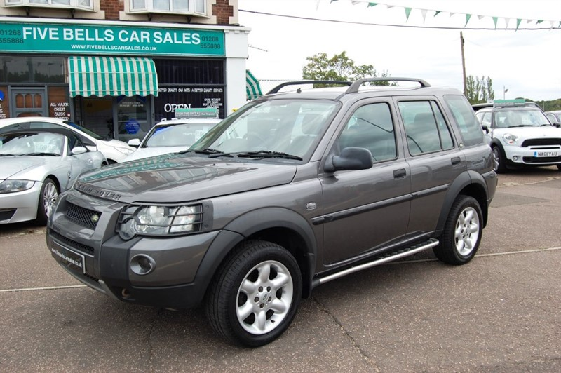 used Land Rover Freelander TD4 FREESTYLE in stanford-le-hope-essex