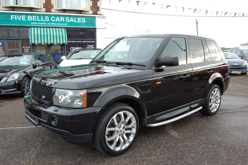 used Land Rover Range Rover Sport TDV8 HSE E4 in stanford-le-hope-essex