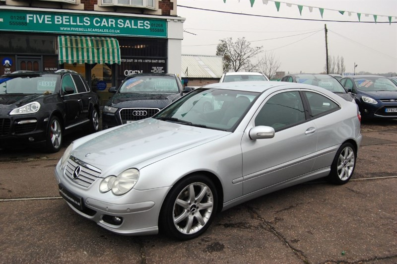 used Mercedes C200 C200K SE in stanford-le-hope-essex