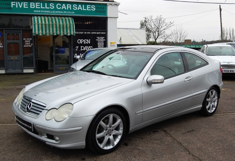 used Mercedes C200 KOMPRESSOR in stanford-le-hope-essex