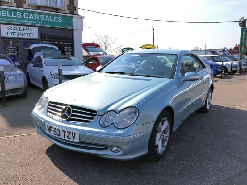 used Mercedes CLK240 CLK CLK240 AVANTGARDE in stanford-le-hope-essex