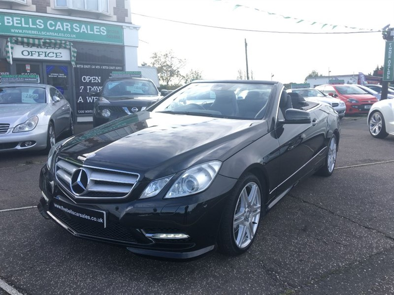used Mercedes E220 CDI BLUEEFFICIENCY SPORT in stanford-le-hope-essex