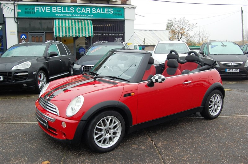 used MINI Convertible COOPER in stanford-le-hope-essex