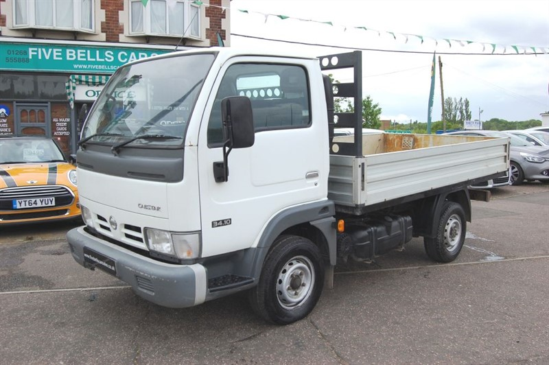 used Nissan Cabstar 34.10 SWB TD in stanford-le-hope-essex
