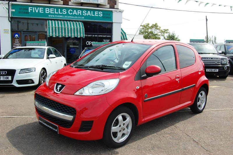 used Peugeot 107 ENVY in stanford-le-hope-essex