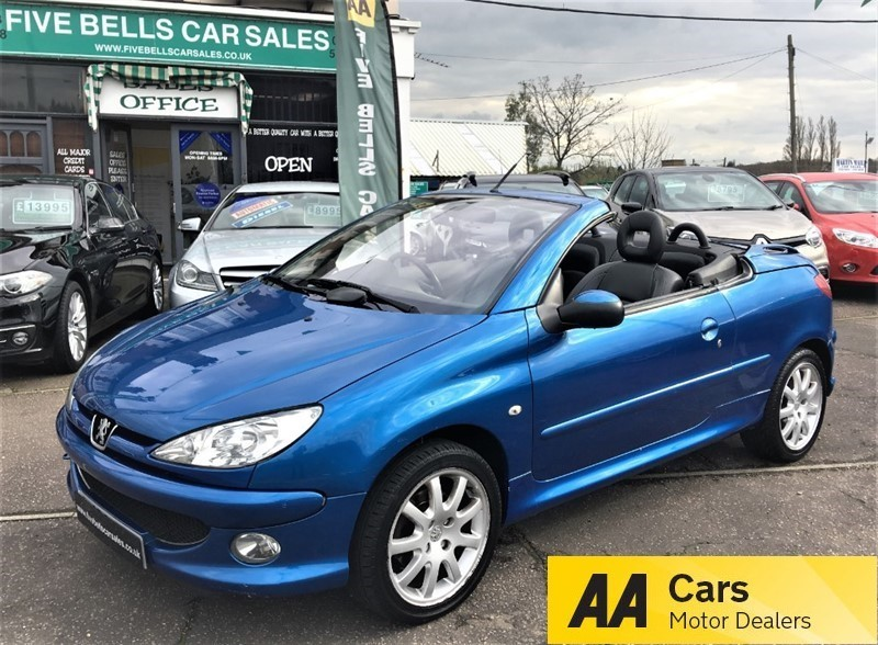 used Peugeot 206 ALLURE COUPE CABRIOLET in stanford-le-hope-essex