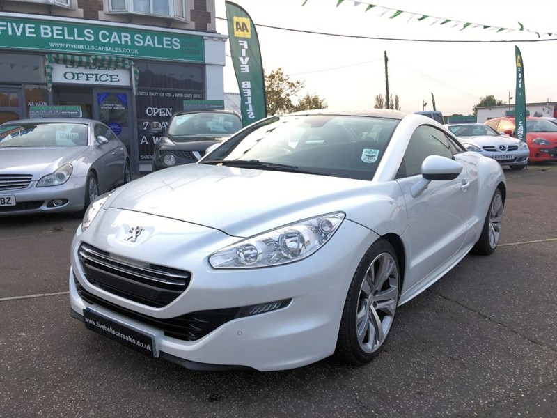 used Peugeot RCZ HDI GT in stanford-le-hope-essex