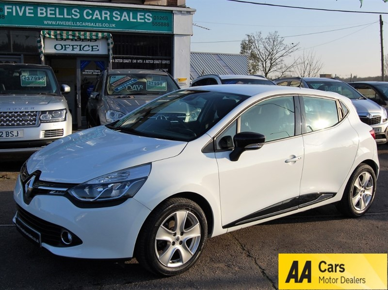 used Renault Clio DYNAMIQUE NAV TCE in stanford-le-hope-essex