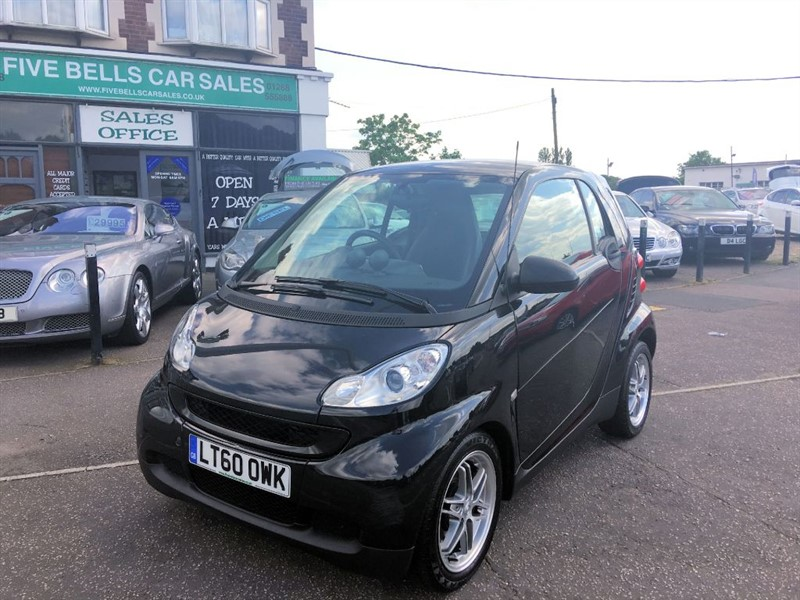 used Smart Car Fortwo Coupe PASSION MHD in stanford-le-hope-essex