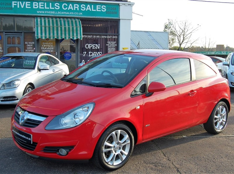 used Vauxhall Corsa SXI 16V in stanford-le-hope-essex