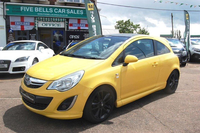 used Vauxhall Corsa LIMITED EDITION in stanford-le-hope-essex