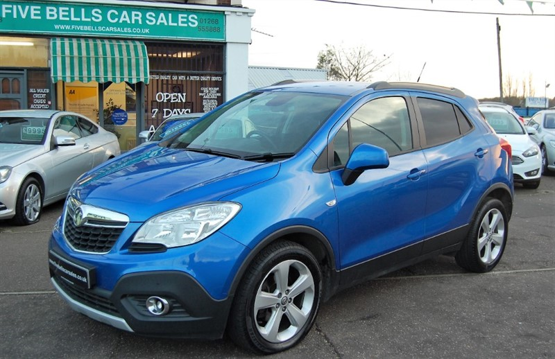 used Vauxhall Mokka TECH LINE S/S in stanford-le-hope-essex