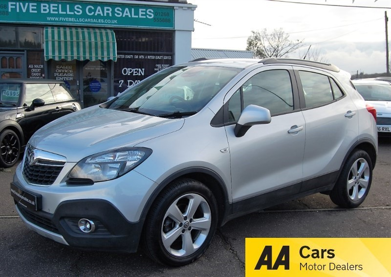 used Vauxhall Mokka EXCLUSIV CDTI S/S in stanford-le-hope-essex