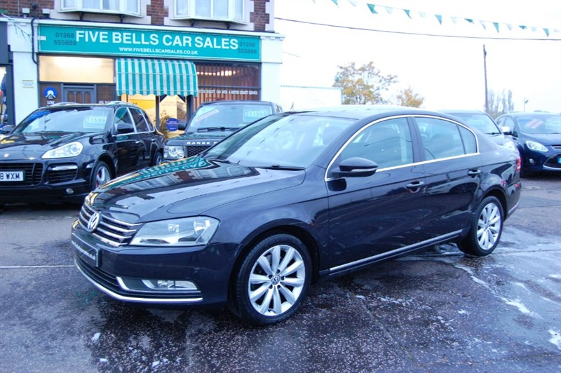 used VW Passat HIGHLINE TDI BLUEMOTION TECHNOLOGY in stanford-le-hope-essex
