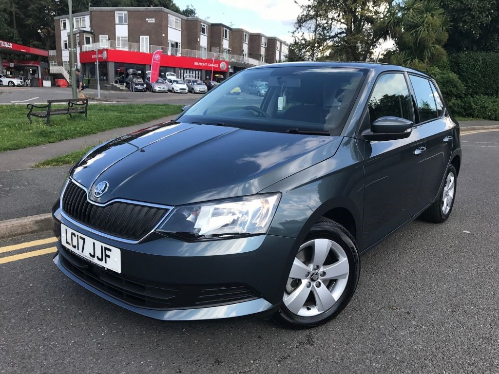 skoda fabiase tsi dsg for sale epsom downs surrey belmont garage. Black Bedroom Furniture Sets. Home Design Ideas