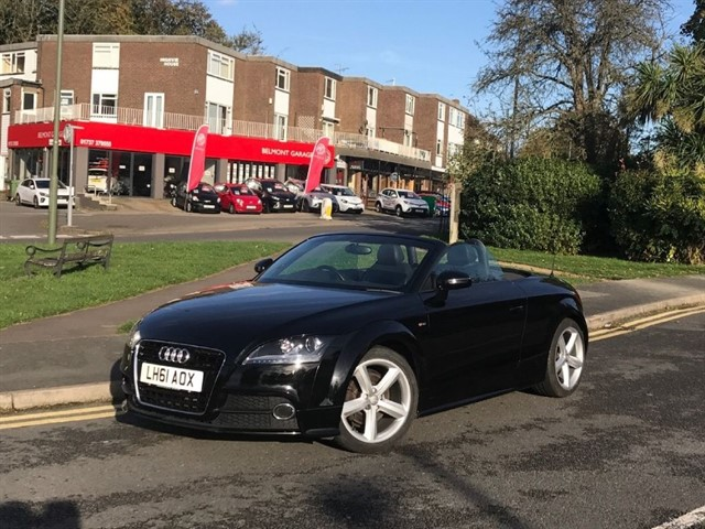 used Audi TT TFSI S LINE in epsom-surrey
